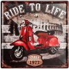 30x30cm Ride to Life - X33-m003