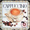 Tranh thiếc 30x30cm Cappuccino Q33-3011