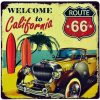 30x30cm Welcome to California Route 66 Q33-3020
