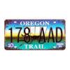 Biển số xe 30x15cm - Oregon 178 AAD Trail - XC-k509